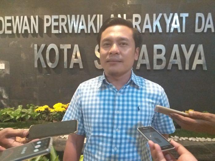 Arif Fathoni Pastikan Fraksi Golkar Tindak Lanjuti Laporan Pengalihan Lahan di Medokan Ayu Surabaya