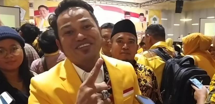 Musda Golkar Kaltim Aklamasi, Rudi Mas'ud Ketua Makmur HAPK Ketua Harian