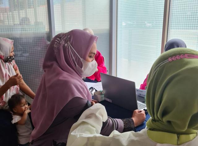 Karmila Sari Senang Warga Rokan Hilir Mulai Paham Pentingnya Vaksinasi COVID-19