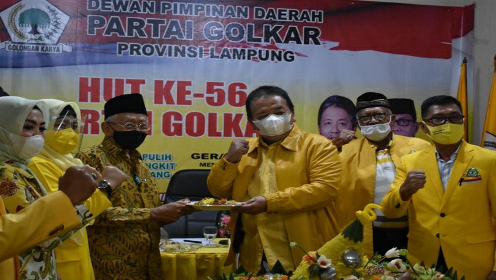 Eks Ketua Golkar Lampung Karyotomo Meninggal, Arinal Djunaidi: Besar Jasanya Pertahankan Partai Di Lampung