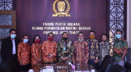 Kodrat Sunyoto Tegaskan Fraksi Golkar DPRD Jatim Dukung Perjuangan PPNI Jatim