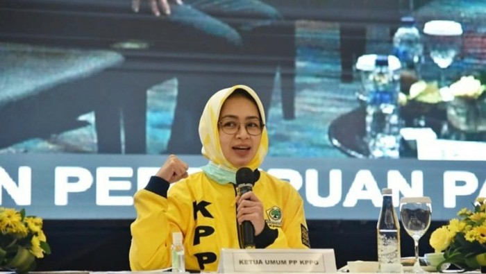 Ini Pernyataan Keren Ketua Umum PP KPPG Airin Rachmi Diany di Hari Perempuan Internasional