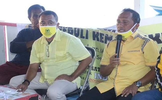 Eks Rektor Universitas Iqra Buru Bergabung dan Jadi Pimpinan Golkar Maluku