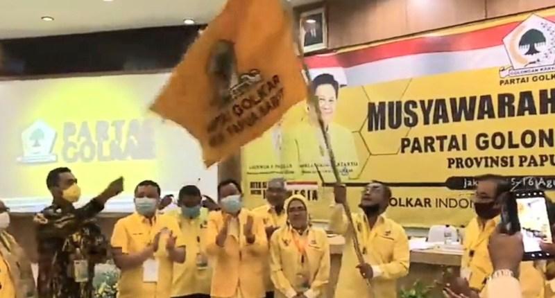 Bukan Jitmau dan Timisela, Tapi Alfons Manibuy Terpilih Pimpin Golkar Papua Barat