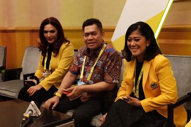 Adies Kadir, Firman Soebagyo dan Erwin Aksa Jadi Waketum DPP Golkar Yang Baru