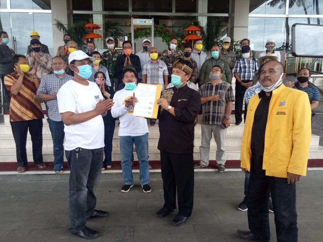 28 dari 37 Pemilik Suara Dukung Dadang Naser Kembali Pimpin Golkar Kabupaten Bandung