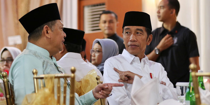 Siapapun Caketum Golkar Yang Menang, Pasti Bakal Dirangkul Jokowi