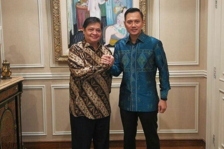 Beredar Rumor Airlangga Jalin Koalisi Dengan AHY di Pilpres 2024, Ini Tanggapan Pengamat