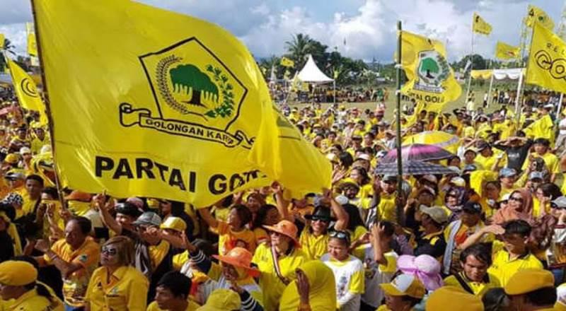 Survei IDM: Golkar Nyaris Salip PDIP Di Posisi Atas, Demokrat Meroket Gerindra Jeblok