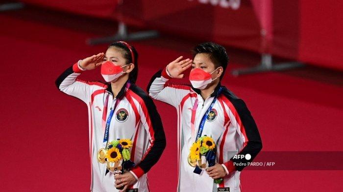 Menpora Zainudin Amali Bangga Greysia/Apriyani Mampu Rebut Emas dan Cetak Sejarah Olimpiade