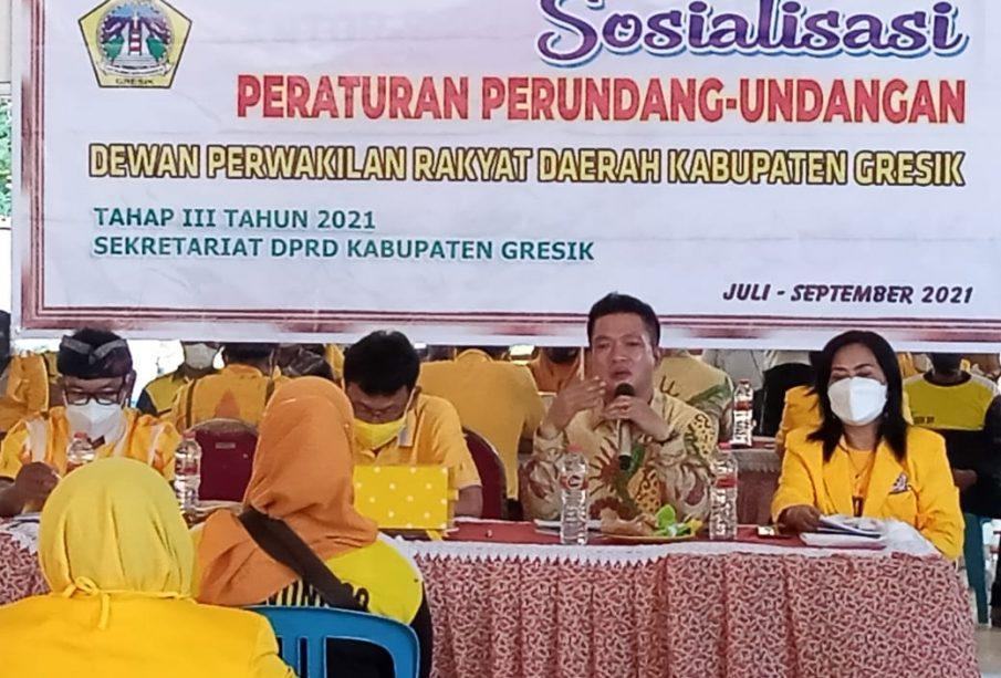 Tingkatkan PAD Kabupaten Gresik, Atek Riduan dan Wongso Negoro Minta Parkir Dikelola Profesional
