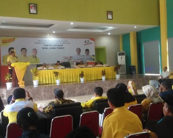 Nurdin Halid Pastikan Golkar Usung Thorig Husler di Pilkada Luwuk Timur 2020