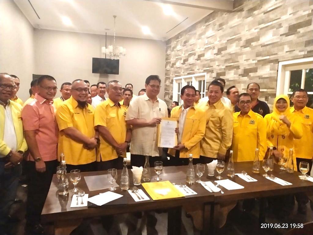 Golkar Lampung Harap Azis, Lodewijk dan Hanan Dapat Posisi Strategis di DPP