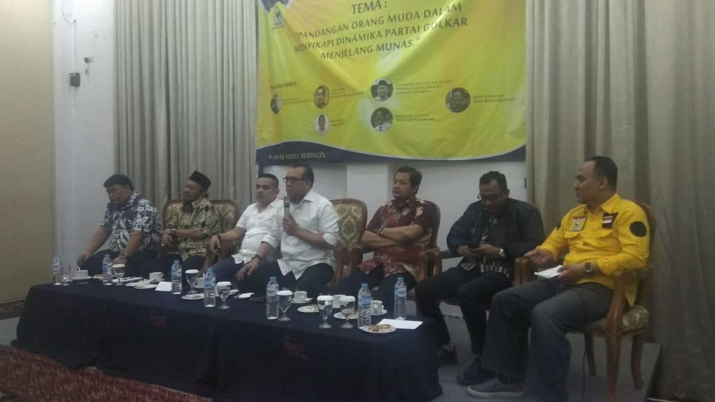 Junaidi Elvis Nilai Bamsoet Bakal Mampu Repositioning Golkar Dengan Gandeng Kaum Muda