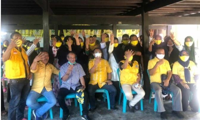 Jelang Pencoblosan, Golkar Sulsel Door to Door Menangkan Irman Yasin Limpo-Andi Zunnun Halid