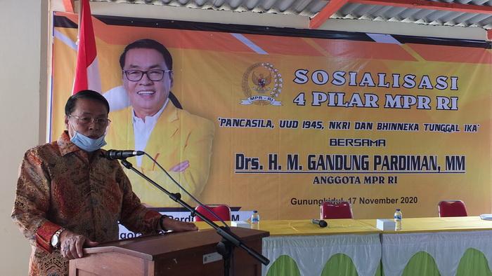 Bangsa Indonesia Sedang Diuji, Gandung Pardiman Yakin Kaum Pancasilais Mampu Pertahankan NKRI