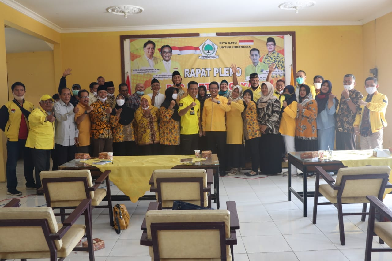 Agus Solichin Terpilih Kembali Jadi Ketua Golkar Kabupaten Tegal