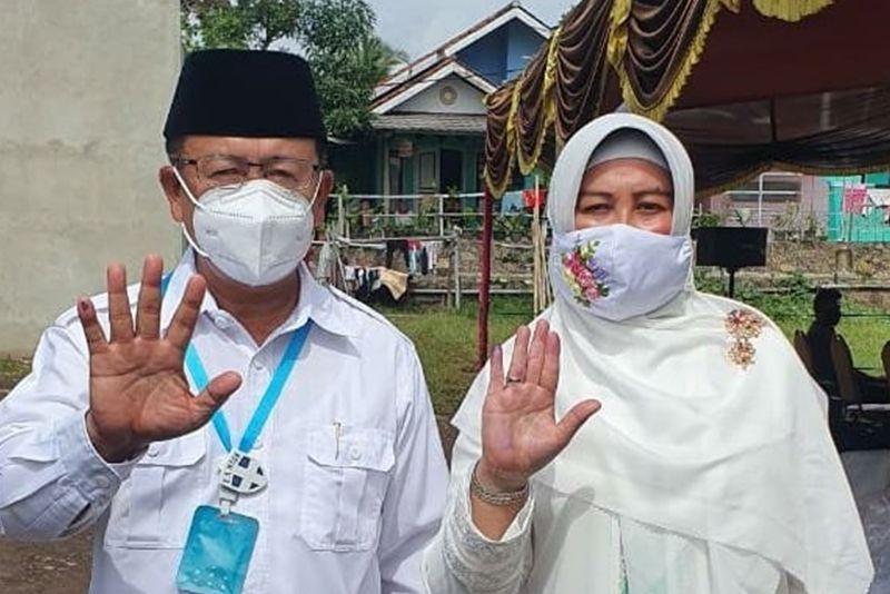 Pilbup Cianjur, Herman Suherman-TB Mulyana Syahrudin Unggul 56,2 Persen