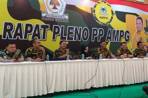 Pleno PP AMPG Putuskan Airlangga Hartarto Calon Tunggal Ketum Partai Golkar 2019-2024
