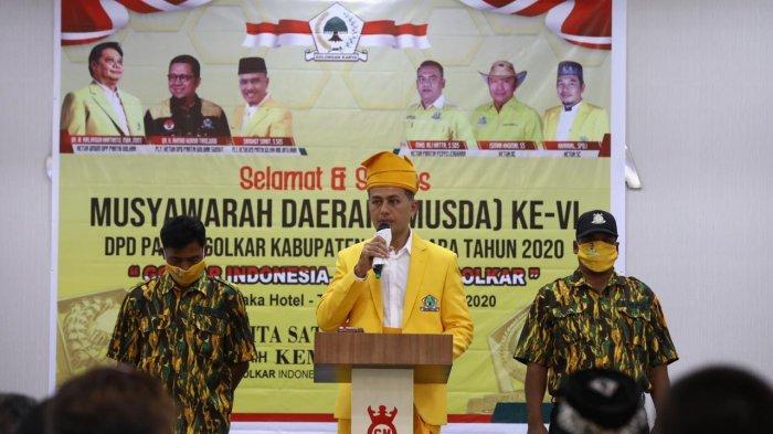 Ambisi Pimpin Golkar Sumut, Wagub Musa Rajekshah Roadshow Galang Dukungan