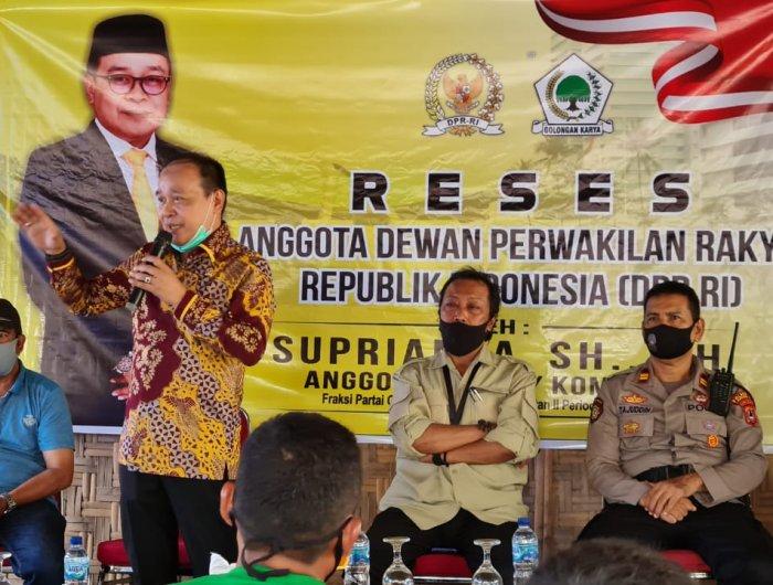 Serap Aspirasi Masyarakat, Supriansa Kunjungi 3 Desa Di Soppeng