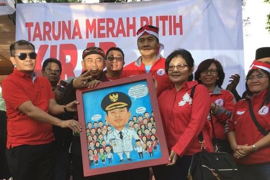 Nasionalisme Tinggi, Maruarar Sirait Beri Gelar Walikota Bekasi Pemimpin Pancasila