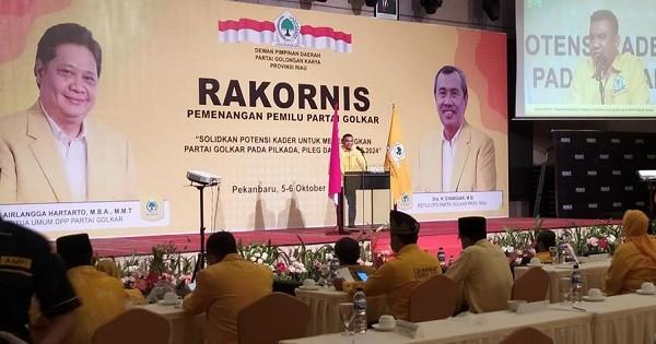 Basis Suara Beringin, Ahmad Doli Kurnia Minta Golkar Riau Sapu Bersih Kemenangan Pilkada