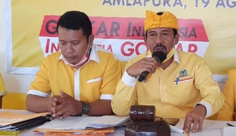 Diatmika-Muntra Terpental di Pilkada Badung, Internal Golkar Bali Saling Curiga