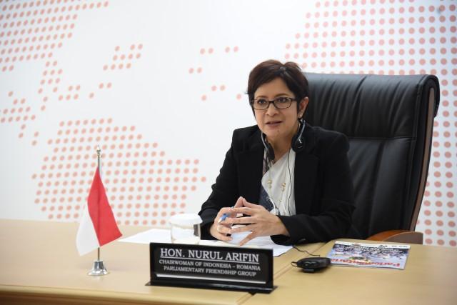 Elektabilitas Golkar Merangkak Naik, Nurul Arifin: Kepemimpinan Airlangga Bikin Partai Makin Solid