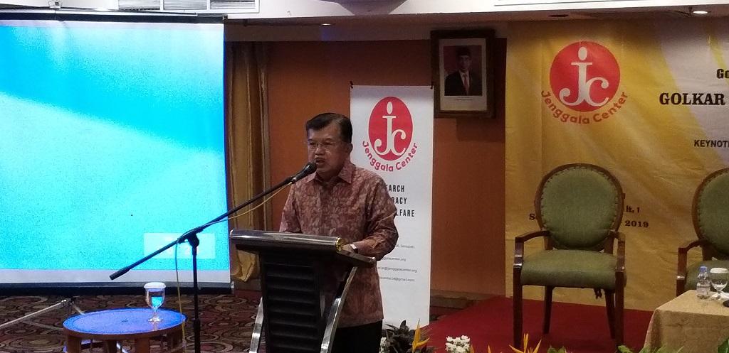 Curhat Jusuf Kalla, Dua Kali Jadi Wapres Tanpa Dukungan Golkar