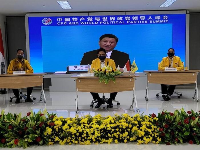 Airlangga Puji Xi Jinping: Banyak Yang Bisa Kita Tiru Dan Pelajari Dari China