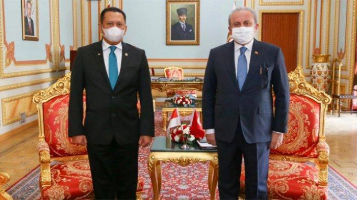 Bersama Ketua Parlemen Turki, Bamsoet Desak PBB Keluarkan Resolusi Hentikan Agresi Israel ke Palestina