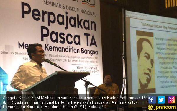 Ingin DJP Lepas Dari Kemenkeu, Misbakhun Dukung Jokowi Bikin Badan Khusus Pajak