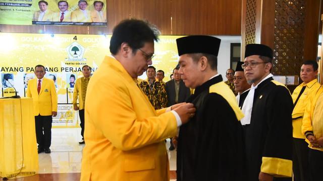 Supriansa Siap Tegak Lurus Jalankan Amanah Sebagai Hakim Mahkamah Partai Golkar