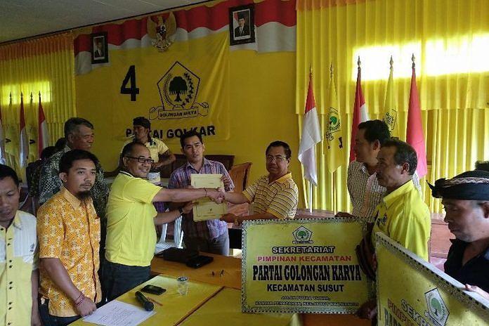 Giri Putra dan Kutha Parwata Berebut Tiket Pilbup Bangli 2020 Dari Golkar