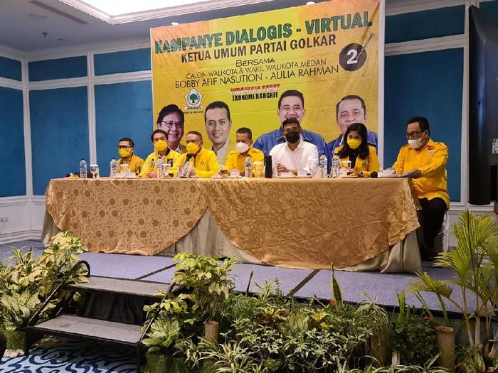 Elit Golkar Turun Gunung Kampanye Bobby Nasution di Medan, Dari Zainudin Amali Hingga Ahmad Doli