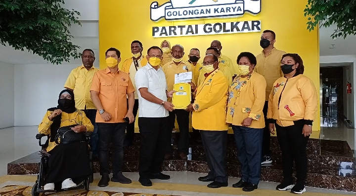 PPKM Darurat Diberlakukan, DPP Tunda Pelantikan Pengurus Baru Golkar Papua Barat