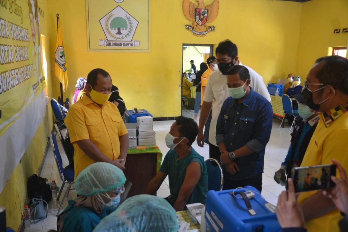 Golkar Magetan Gelar Vaksinasi COVID-19 Untuk 750 Warga Kartoharjo