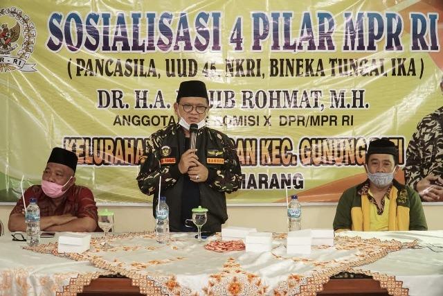 Mujib Rohmat Ingatkan Kader Ansor Gunungpati Siap Berkiprah Dalam Tiap Lini Kehidupan