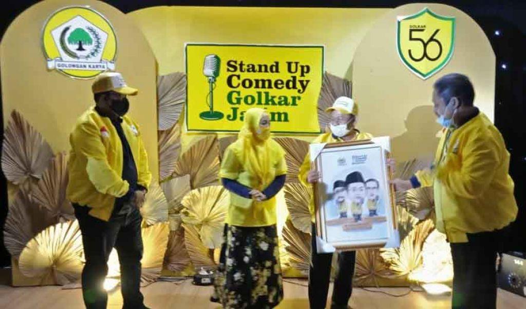 Gelar Final Stand Up Comedy HUT Ke-56, Tanda Golkar Terbuka Akan Kritik