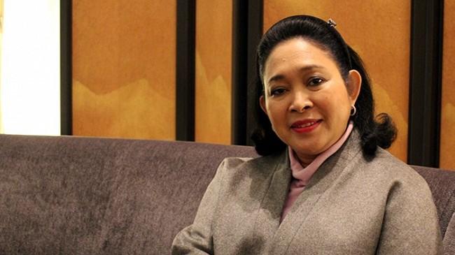 Titiek Soeharto Yakin Setya Novanto Bisa Buktikan Dirinya Tak Bersalah