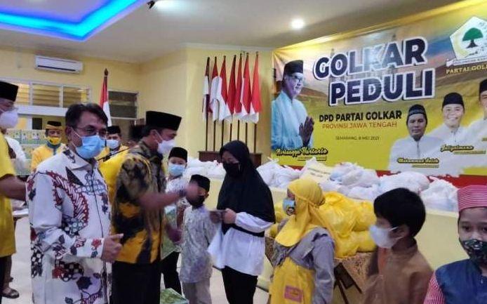Golkar Peduli, Cara Panggah Susanto Dekatkan Partai Dengan Masyarakat Jawa Tengah