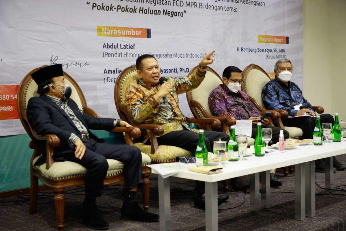 Bamsoet: PPHN Bisa Cegah Proyek Daerah Mangkrak dan Serampangan