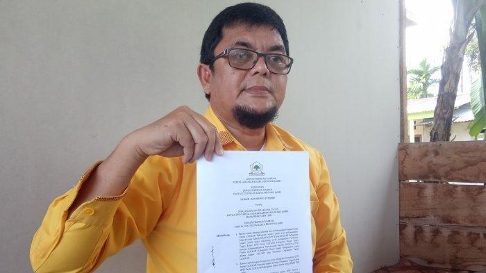 Pantang Mundur! Ivan Wirata Terus Jalankan Roda Kepartaian di Golkar Muarojambi