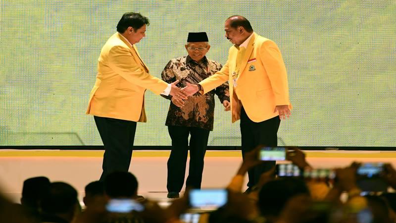 Wapres Ma'ruf Amin Ternyata Pernah Jadi Anggota Fraksi Golkar Utusan Ulama