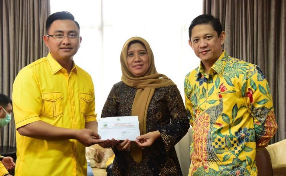 Rekomendasi DPP Turun, Golkar Cilegon Panaskan Mesin Partai Untuk Menangkan Ratu Ati Marliati