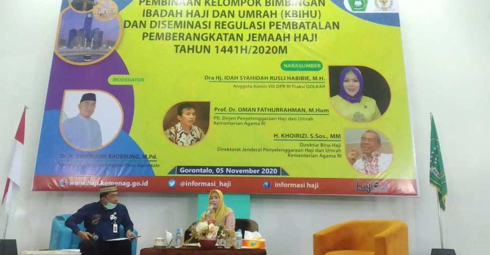 Idah Syahidah Perjuangkan Jemaah Haji Yang Batal Berangkat Tahun 2020 Tak Kena Tambahan BPIH