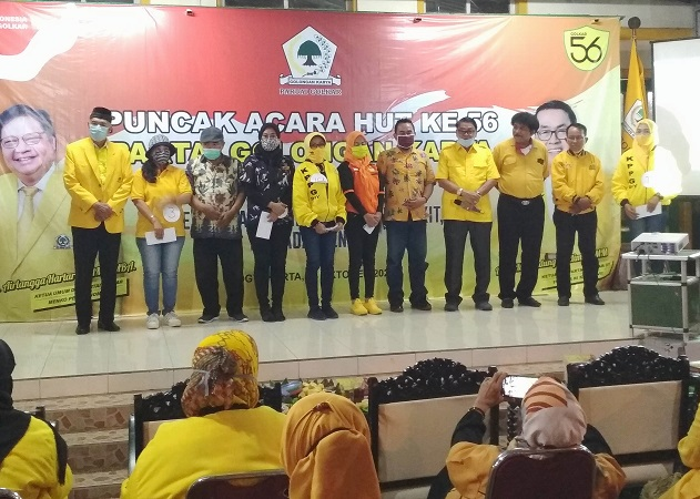 Ribuan Kader Meriahkan HUT Ke-56, Gandung Pardiman Optimis Golkar DIY Bangkit Kembali