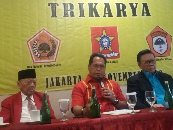 Ali Wongso Sinaga Ajak Kader SOKSI Teladani Perjuangan Suhardiman