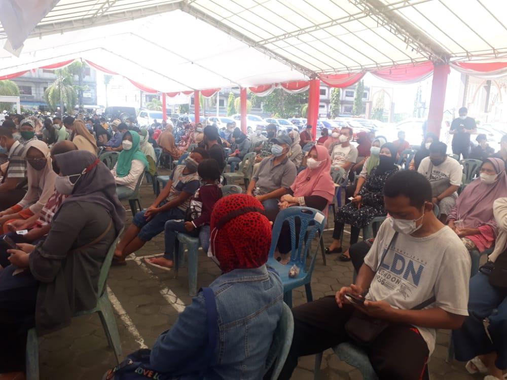 Fraksi Partai Golkar Fasilitasi 1.500 Vaksin Sinovac dan Moderna Untuk Warga Tanjungpinang